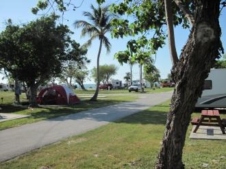 Campingplatz auf den Keys