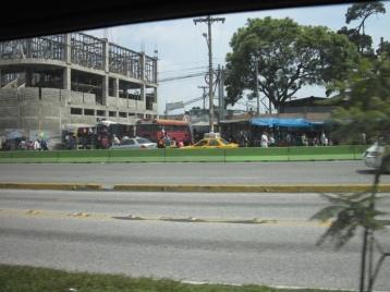 Ankunft in Guatemala-City