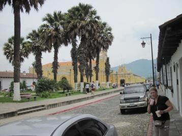 In den Gassen von Antigua