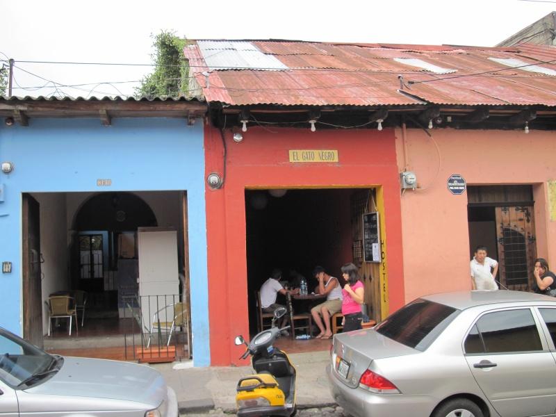 "Unser cooles Hostel ""El Gato Negro"""