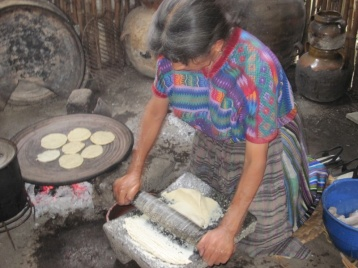 Tortillas backen