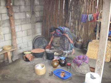 Typische Küche der Indegans