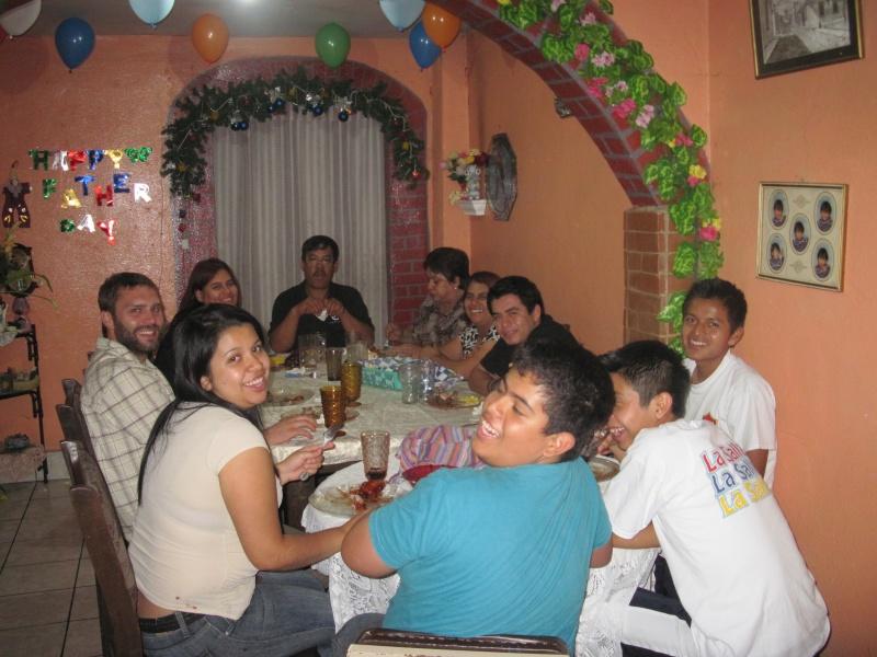 Abendessen zum Dia del Padre (Vatertag)