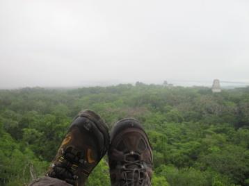 Schuhe, Dschungel, Tempel