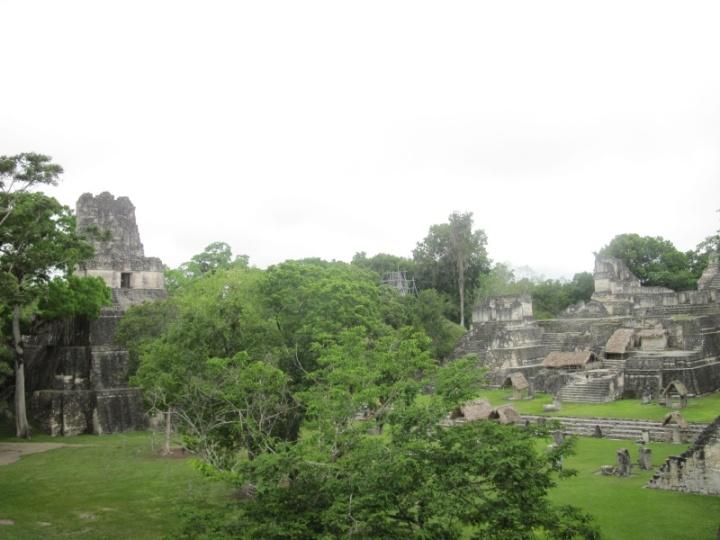 Tempelanlage der Hauptplaza