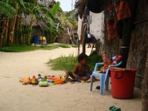Kuna-Dorfjunge