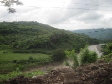 Grenzfluß zwischen Guatemala und El Salvador