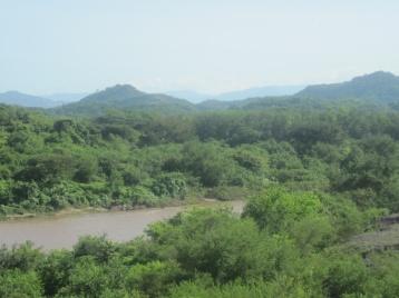 Grenzfluß Honduras zu Nicaragua