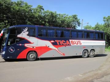 Unser komfortabler Reisebus NACH Costa Rica