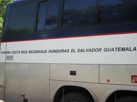 Unsere Tour durch Centralamerica