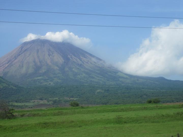 Vulkan in Nicaragua
