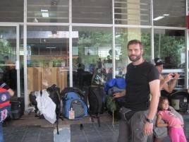 Gepäckkontrolle an der Grenze zu Costa Rica