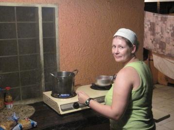 Kochen für das Abendmahl