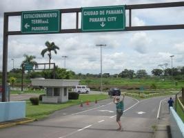 In Panama-City angekommen...endlich