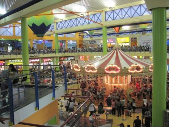 Shopping- und Food-Paradies