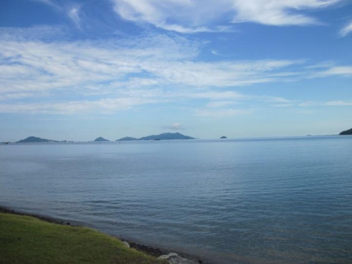 wow..grandioser Ausblick auf die umliegenden Inseln