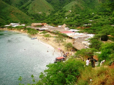 Bucht nahe Taganga