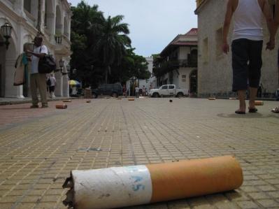 Hier rauchen auch die Riesen