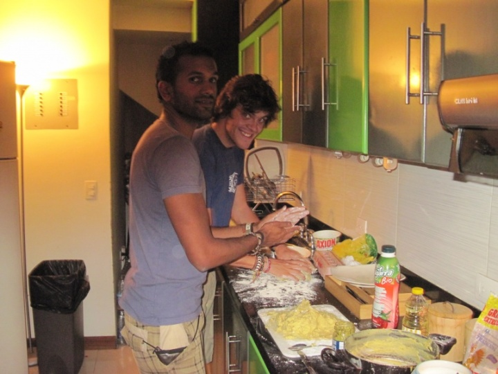 Nick and Jehan from Australia