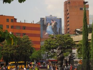 Plaza in der Innenstadt