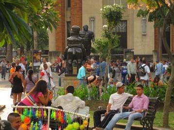 Leben auf der Straße in Medellin
