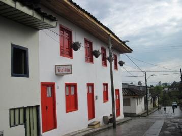 Unser Hostel in Salento