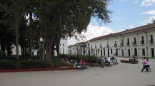 Plaza in Popayán