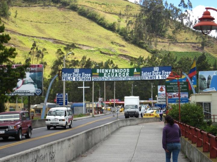 Grenzübertritt zu Fuß