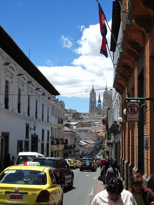 Altstadt mit Blick zur Basilika