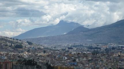 ...über den Dächern von Quito
