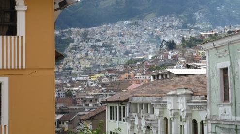 Quito scheint riesig