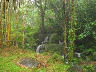 Wasserfall bei Hakuna Matata