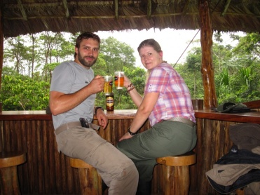 auch im Amazonas gibts Bier
