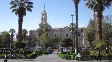 Plaza in Arequipa / Peru