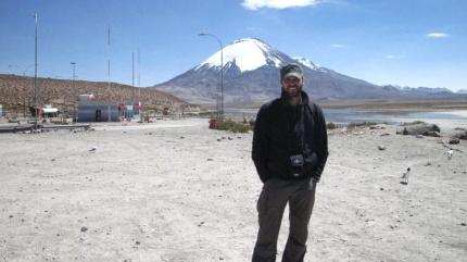 an der Grenze zu Chile