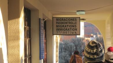 Grenzübertritt Argentinien - Bolivien