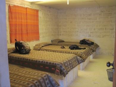 Unser Zimmer im Salzhotel
