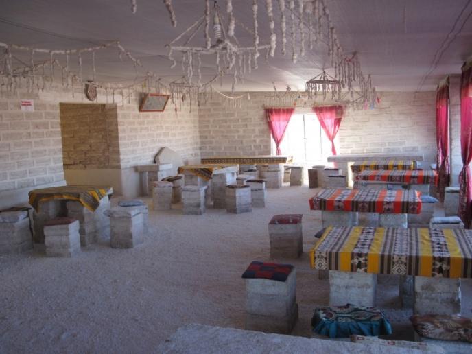 Livingroom im Salzhotel