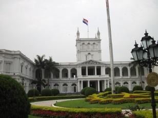 Regierungsgebäude in Asuncion