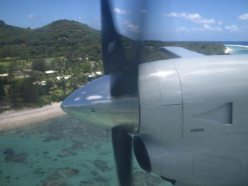 Ankunft Rarotonga