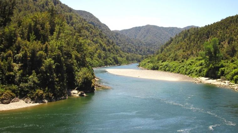 Ein Fluss im Süden