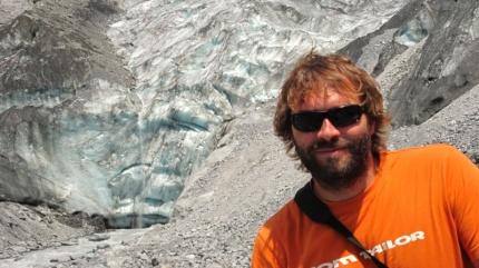 Vor dem Gletscher