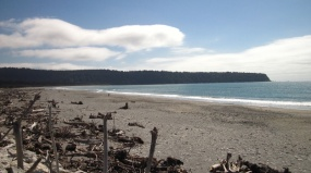 Schöner Naturstrand mit vielen Sandfliegen...auuuhh