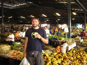 Einkaufen auf dem Markt in Apia