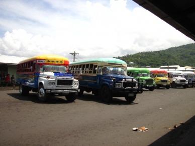 Busplatz in Apia