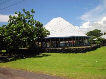 Typisches Haus (Fale) auf Samoa