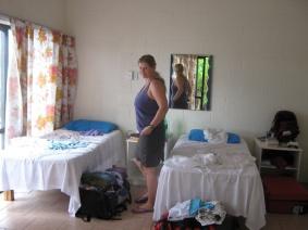 Ankunft im Hostel