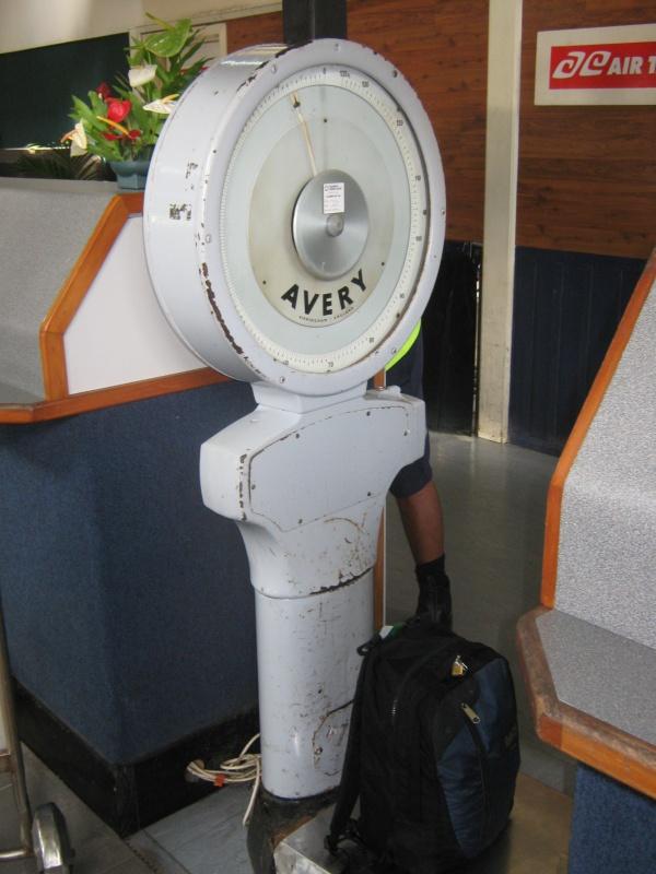 Kofferwaage auf Raro