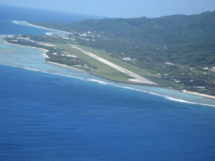 Flughafen von Rarotonga