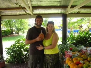 Kokosnussverdrücker